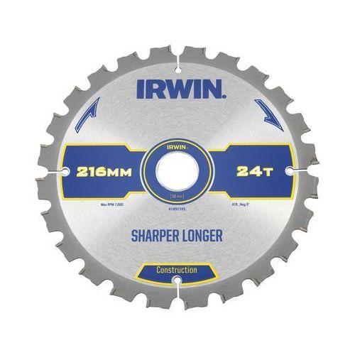 Tarcza do pilarki tarczowej 216MM/24T M/30 śr. 235 mm 24 z IRWIN CONSTRUCTION (5706918973959)