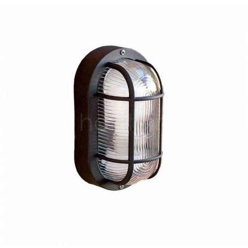 Faro ovalo zewnętrzny kinkiet czarny, 1-punktowy - nowoczesny - obszar zewnętrzny - ovalo - czas dostawy: od 10-14 dni roboczych marki Faro barcelona
