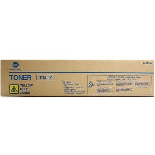 oryginalny toner Konica Minolta TN-214Y [A0D7254] yellow, A0D7254