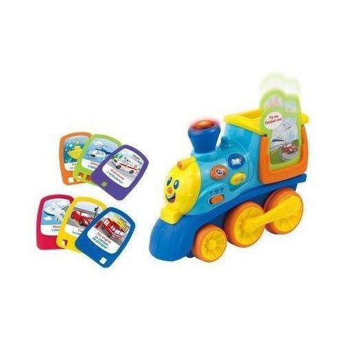 Mój pierwszy pociąg pojazdy PL/EN, zabawka interaktywna DUMEL (0672552423103)