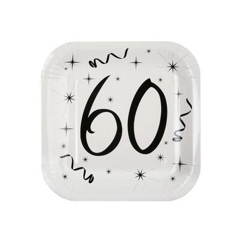 Talerzyki na sześćdziesiąte urodziny - 23 cm - 10 szt. marki San