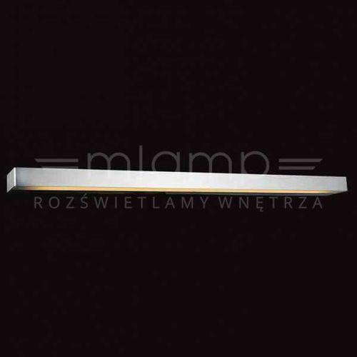 Orlicki design Kinkiet lampa ścienna bastone 940 metalowa listwa oprawa prostokątna belka aluminium