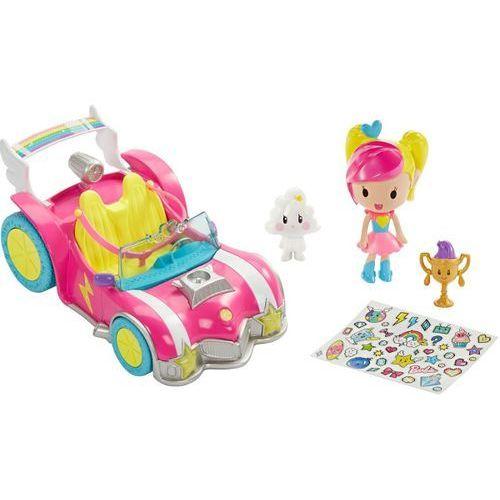 BARBIE DTW18 Barbie w świecie gier Pojazd + Minifigurki 3+ | DARMOWA DOSTAWA OD 150 ZŁ!