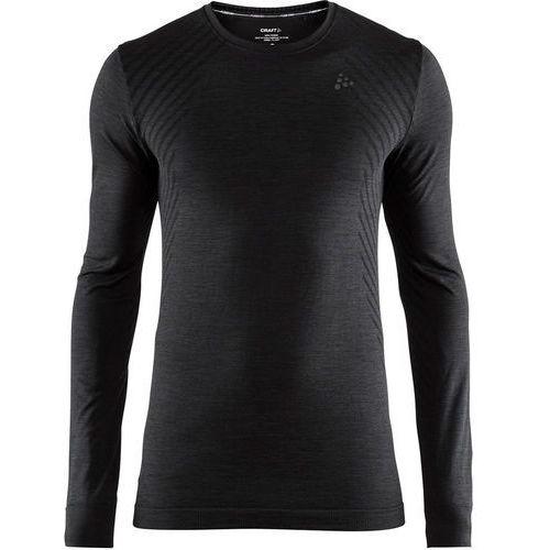 Craft fuseknit comfort koszulka z długim rękawem mężczyźni, black l 2019 podkoszulki z długim rękawem