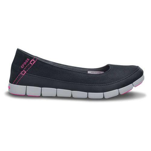 Buty  stretch sole flat 15317 black - czarny, Crocs