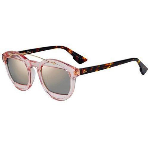 Okulary słoneczne mania 1 n71/0j hvnrose brwn marki Dior