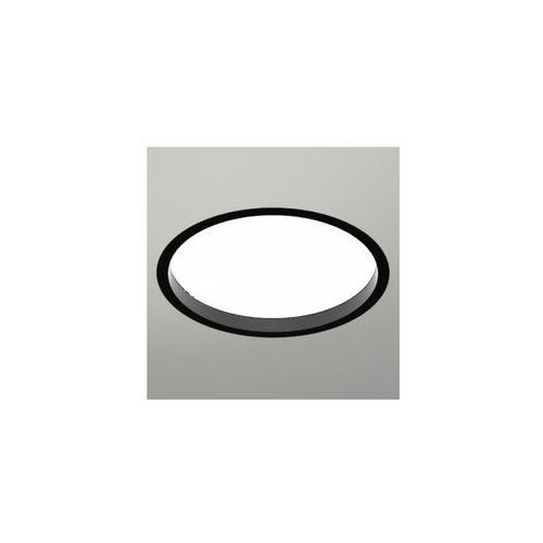 Shilo Wpuszczana lampa sufitowa oprawa podtynkowa hofu 3317-b/e27/cz okrągła czarny