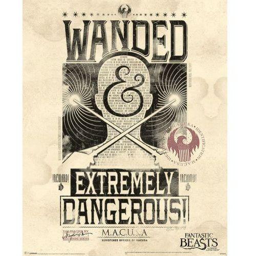 Fantastyczne zwierzęta i jak je znaleźć Ekstremalnie niebezpieczne - plakat