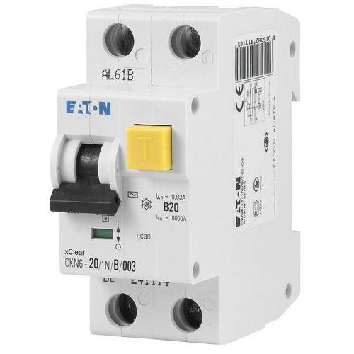 Eaton wyłącznik różnicowoprądowy ckn6-20/1n/b/003 30ma 241429 (4015082414290)