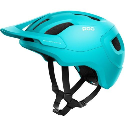 POC Axion Spin Kask, kalkopyrit blue matt XL/XXL | 59-62cm 2020 Kaski rowerowe (7325541003970)