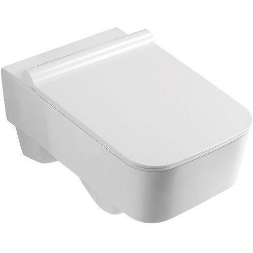Miska wisząca WC, z deską wolnoopadającą Vanessa 16 Kerra