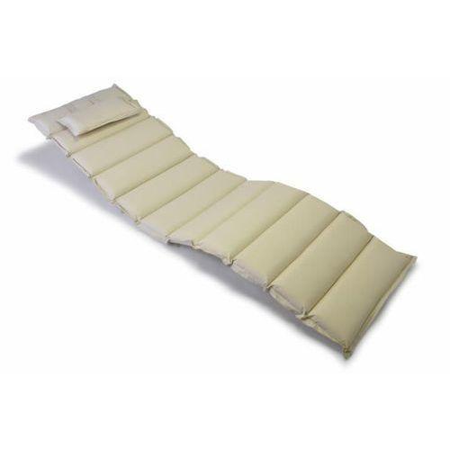 Poduszka Garthen na leżak kremowa