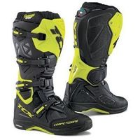 TCX BUTY COMP EVO MICHELIN BLACK/YELLOW FLUO, kolor żółty