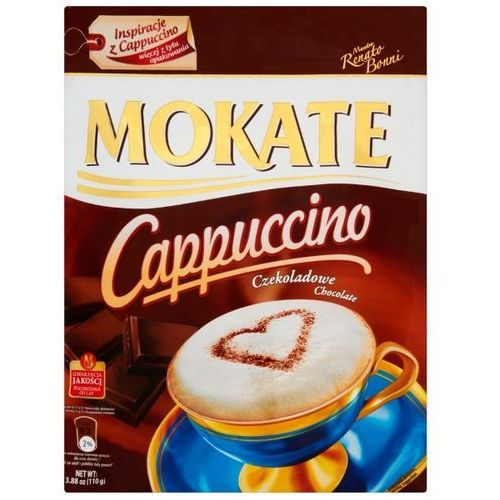 Cappuccino z belgijską czekoladą Caffetteria 110 g Mokate (5902891280224)