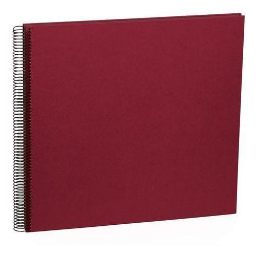 Album na zdjęcia Uni Economy czarne karty duży burgund, 352901