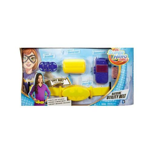 - dc super hero girls pas bargirl marki Mattel