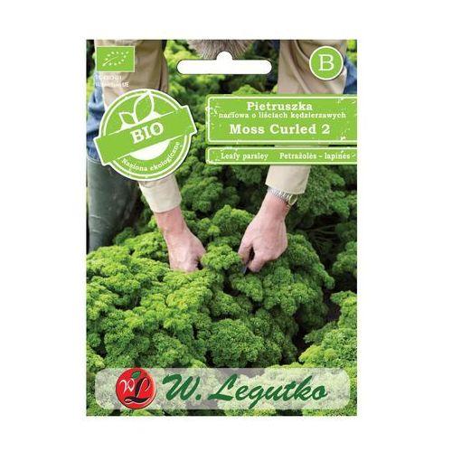 Pietruszka naciowa o liściach kędzierzawych nasiona bio moss curled 2 marki W. legutko
