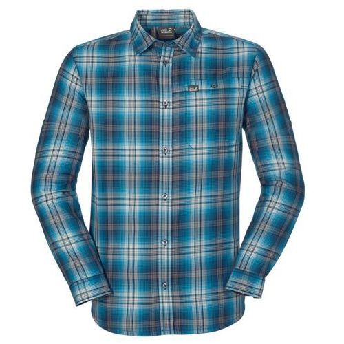 Koszula GIFFORD SHIRT MEN - moroccan blue checks (4052936944305)