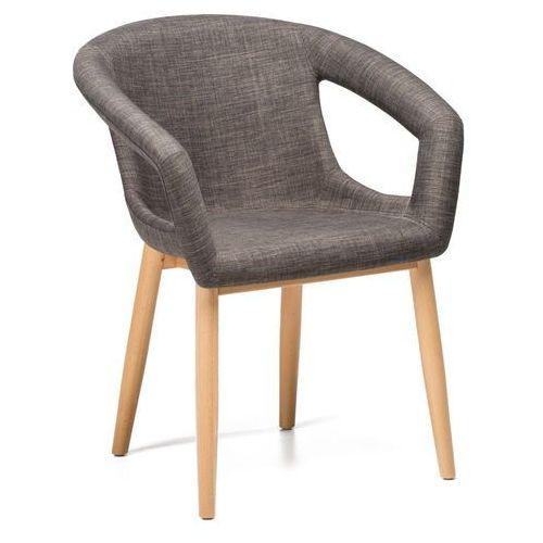 Krzesło Almin szary ciemny (grafitowy), MO-0064