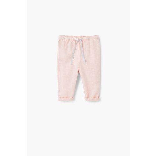 Mango Kids - Spodnie dziecięce Cecile 62-80 cm - sprawdź w wybranym sklepie