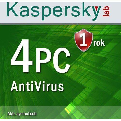Kaspersky Antyvirus 2016 4 PC ESD - sprawdź w wybranym sklepie