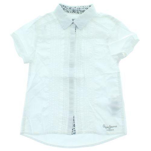 Pepe jeans koszula dziecięca biały 7 lat