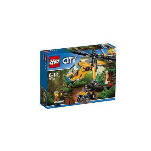 Zestawy city® city jungle explorers 60158 dżungla.helikopter transportowy marki Lego®