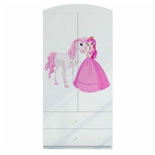 Szafa dla dziecka happy 3x mix - biała marki Producent: elior