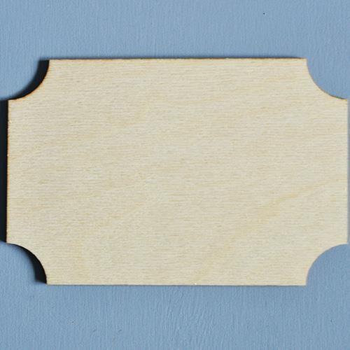 Eko deco Drewniana tabliczka do decoupage 15x10 cm - 02