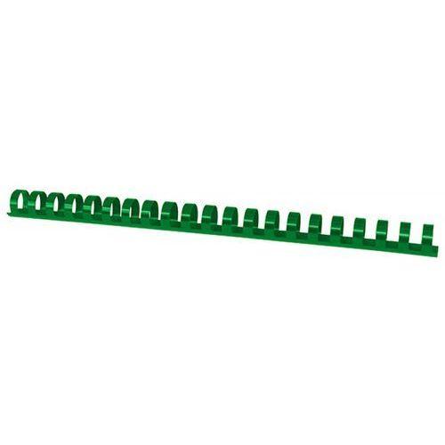 Office products Grzbiety do bindowania , a4, 19mm (165 kartek), 100 szt., zielone