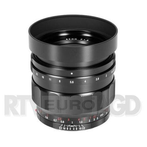 Voigtlander Nokton 50 mm f/1,2 do Sony E