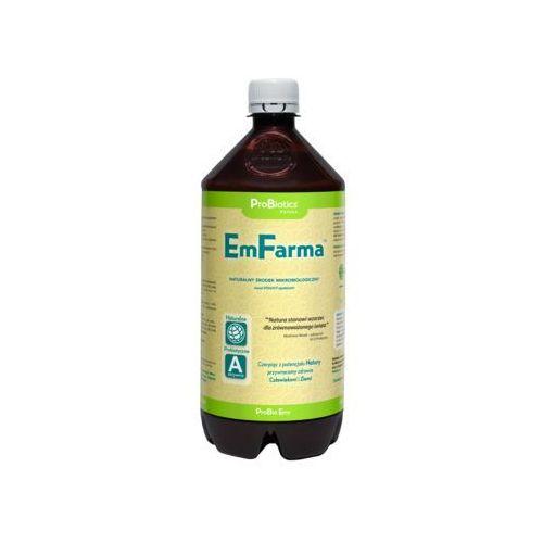 EmFarma - naturalny oprysk dla zdrowia roślin - 1litr Preparat naturalny na bazie mikroorganizmów zastępuje opryski chemiczne.