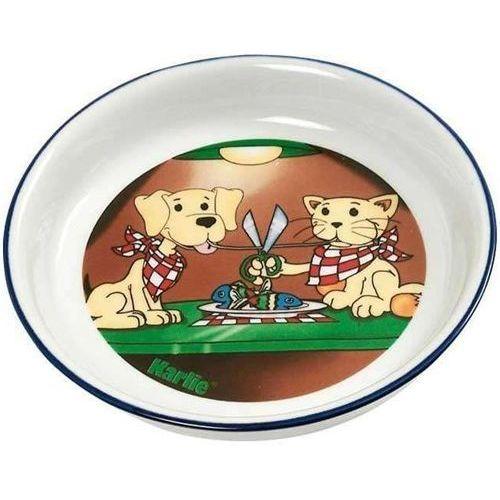 Karlie Kolorowa miska dla kota z nadrukiem - marka