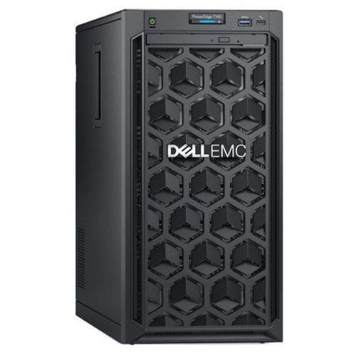 Serwer Dell T140 Intel Xeon E-2124 4-core 3.3GHz / RAM 8GB DDR4 / 2x1TB SATA / Perc S140 / 3Y NBD