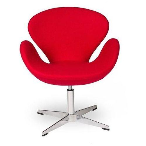 Fotel Aarhus Chrom czerwony, MO-0144