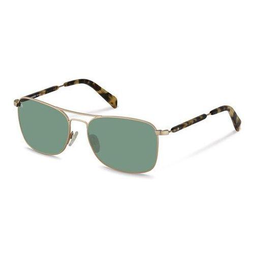 Okulary Słoneczne Rodenstock R1415 B, kolor żółty