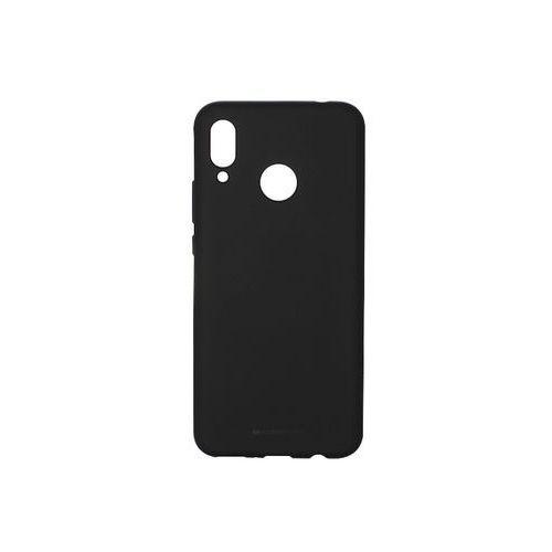 Huawei Nova 3 - Mercury Goospery Soft Feeling - czarny, kolor czarny