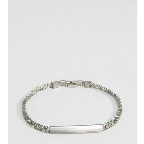 DesignB London chain id bracelet in silver - Silver