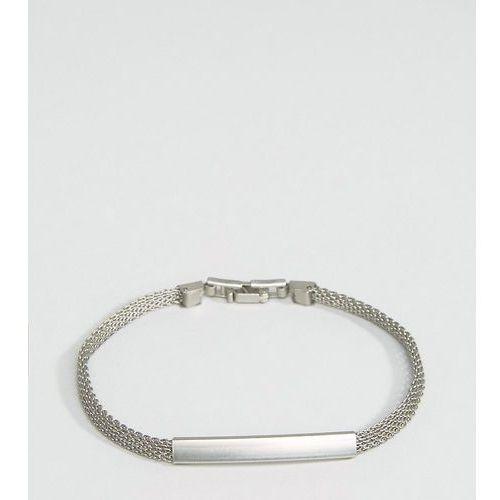 DesignB London Chain ID Bracelet In Silver - Silver