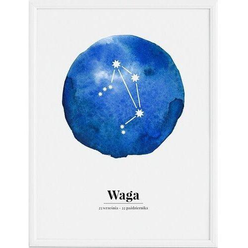 Plakat zodiak waga 70 x 100 cm marki Follygraph