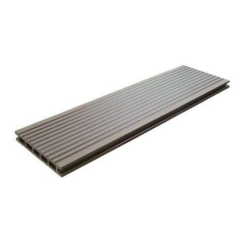 Deska tarasowa kompozytowa  2 1 x 14 5 x 220 cm chocolate marki Blooma