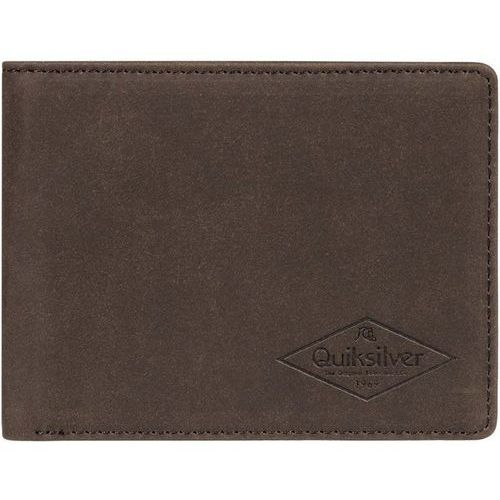 portfel QUIKSILVER - Slim Vintage Iii Chocolate Brown (CSD0) rozmiar: L