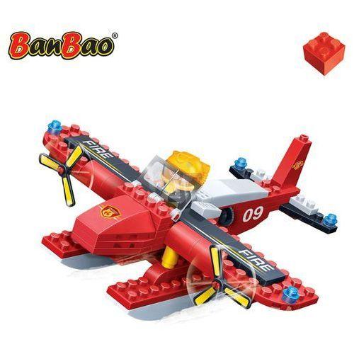 Klocki BanBao Straż Pożarna 7109 Hydroplan strażacki 125e Darmowa wysyłka i zwroty