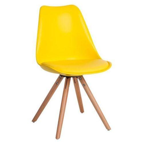 Krzesło norden star pp żółte 1610 - żółty marki D2.design