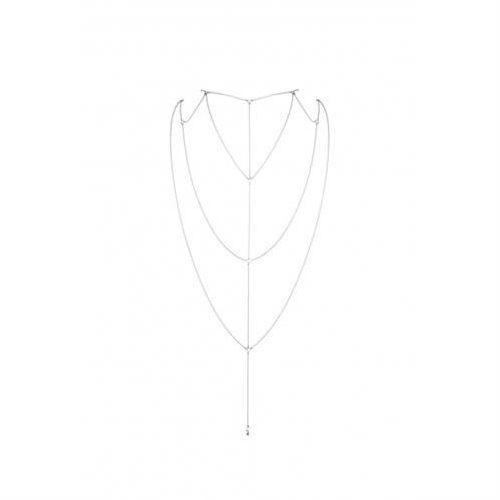 Bijoux indiscrets (sp) Bijoux indiscrets - magnifique back & cleavage chain (srebrny)