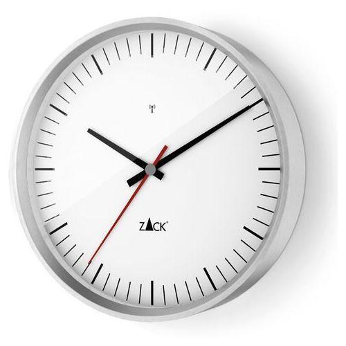 Zegar Zack Vida sterowany radiowo 30 cm biały