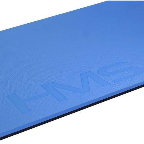 Mata fitness z otworami MFK03 HMS - niebieski (5907695531787)