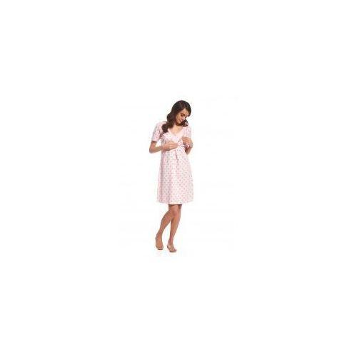 116 EMY 2 kopertowa koszula nocna ciążowa Cornette