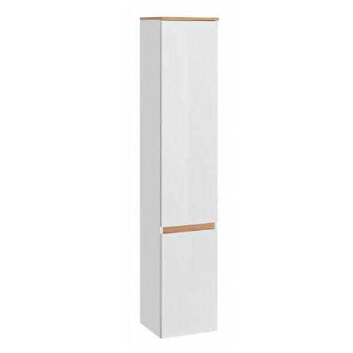 Podwieszany słupek łazienkowy - sewilla 2x biały połysk marki Producent: elior