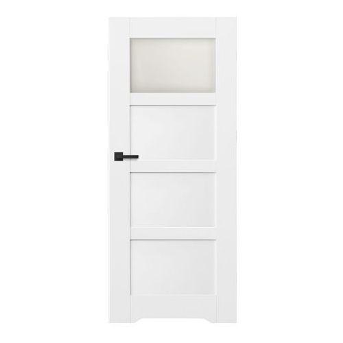 Drzwi z podcięciem Connemara 80 prawe kredowo-białe